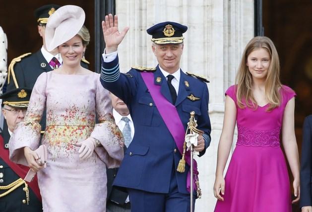 Mathilde ziet het rooskleurig op nationale feestdag