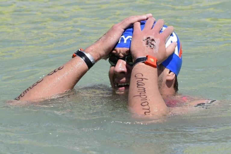 Fransman Axel Reymond pakt wereldtitel op 25 km in open water