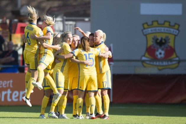 Duitsland en Zweden pakken volle buit op EK voetbal