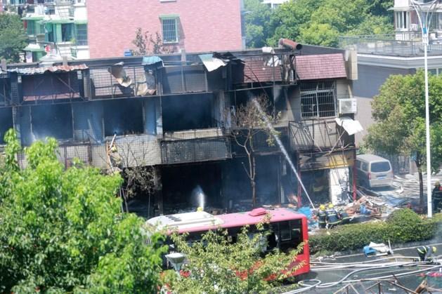 2 doden en 55 gewonden bij gasexplosie in restaurant in China