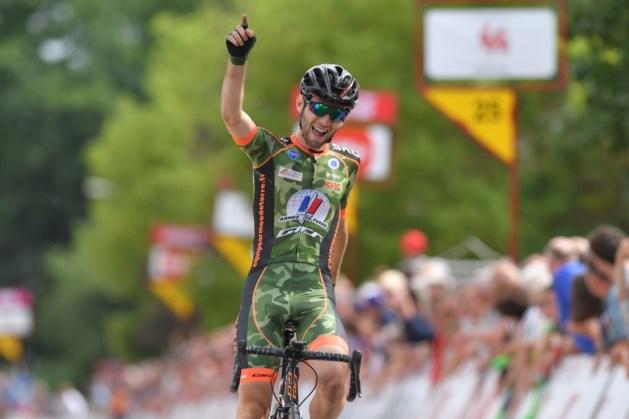 Fransman zet Belgen een neus in Ronde van Wallonië en is eerste leider