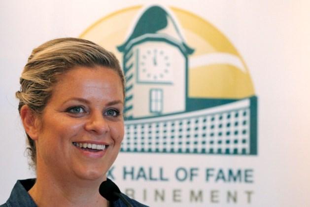Kim Clijsters officieel opgenomen in Hall of Fame tennis