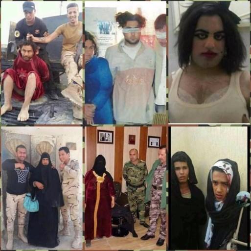 Wanhopige IS-strijders verkleden zich als vrouwen om te vluchten, maar enkelen vergeten toch iets essentieels