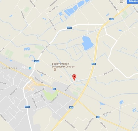 Leegstaande hoeve vat vuur in Diepenbeek