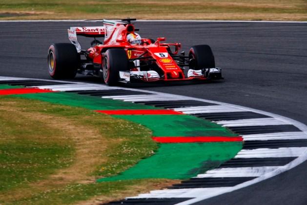 Pirelli kent oorzaak van klapband Sebastian Vettel tijdens Britse GP