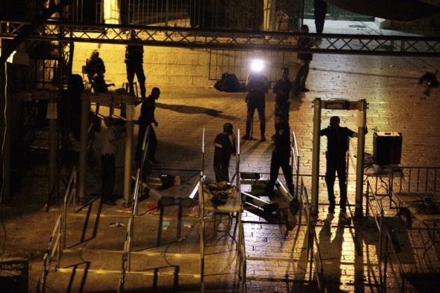 Israël gaat niet langer metaaldetectoren gebruiken aan Tempelberg