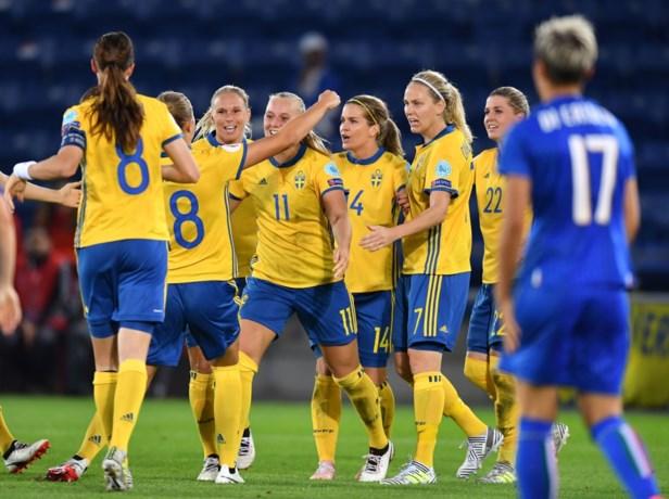Zweden gaat ondanks nederlaag, samen met Duitsland, naar kwartfinales EK