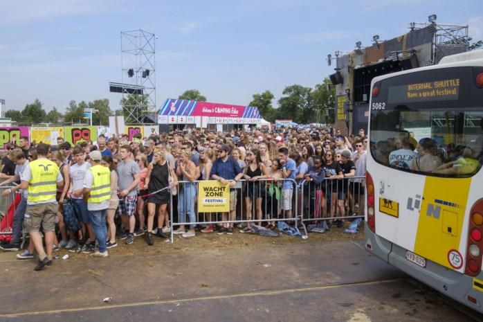 Opnieuw gratis Pukkelpopbussen naar 34 Limburgse gemeenten