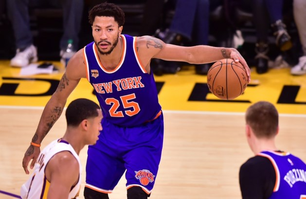 """Toptransfer in NBA: """"Voormalig MVP Derrick Rose tekent bij Cleveland"""""""