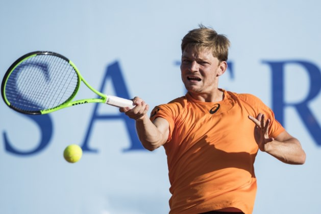 Goffin overleeft vier matchballen op ATP Gstaad