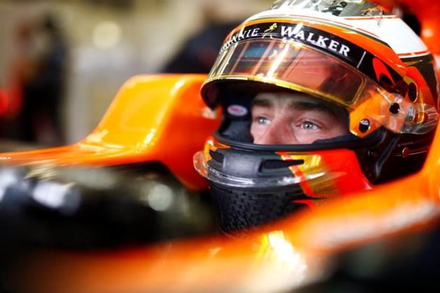 McLaren laat Stoffel Vandoorne volgende week testen in Hongarije