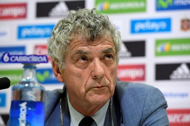 Geschorste Villar treedt terug als vicevoorzitter van de UEFA