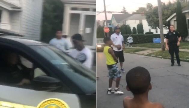Agent krijgt een klacht over spelende kinderen maar besluit doodleuk mee te spelen