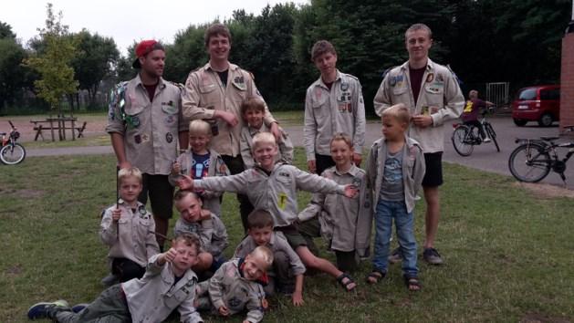 Kapoenen van scouts Hamont beleven een superkamp