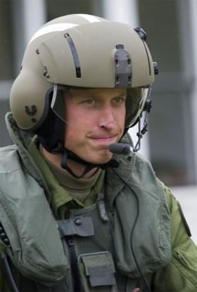 Prins William stopt als piloot van een reddingshelikopter