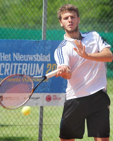 Benjamin Dhoe kan dubbelfinale ITF Knokke niet winnen