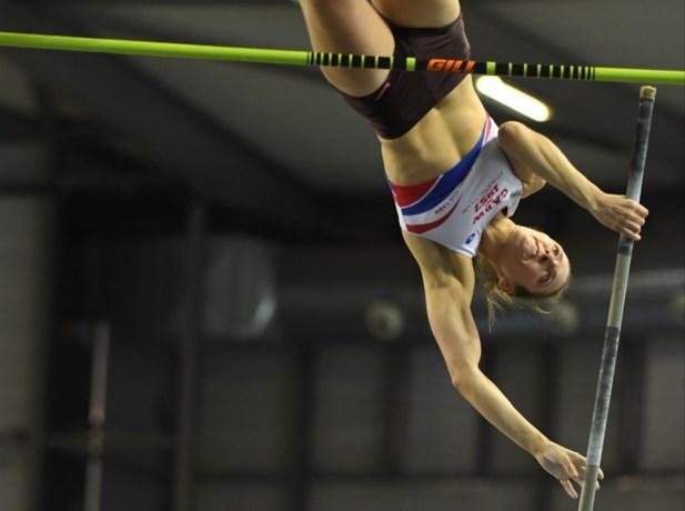 Polsstokspringster Fanny Smets mag zich opmaken voor WK atletiek