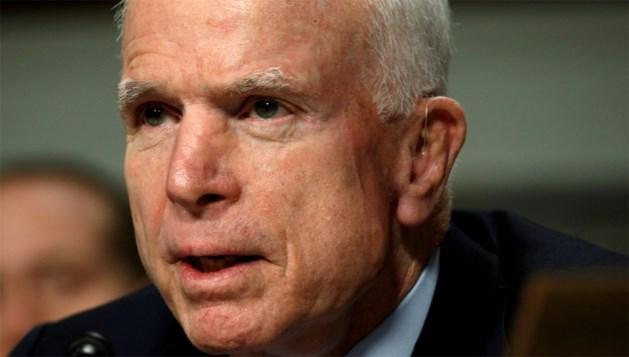 John McCain keert dinsdag terug naar Senaat voor belangrijke stemming rond Trumpcare