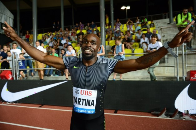 Nederlandse sprinter Churandy Martina mist WK atletiek door blessure