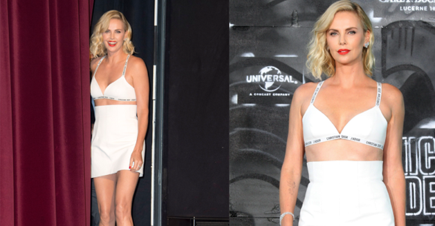 Styliste van Charlize Theron reageert op 'ongepaste' outfit