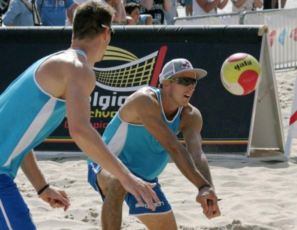 Dries Koekelkoren en Tom van Walle stranden in kwartfinales van WorldTour beachvolley