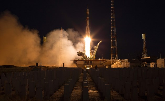 Nieuwe bemanning aangekomen in ruimtestation ISS
