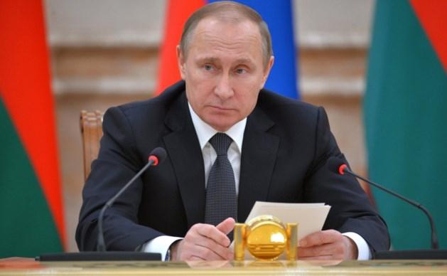 """Poetin plant reactie op Amerikaanse sancties """"die indruisen tegen internationaal recht"""""""