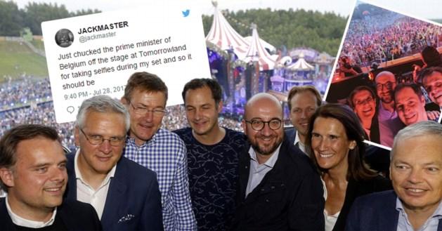"""Dj Jackmaster zet ministers van het podium op Tomorrowland: """"Geen grapje, zoals premier beweert"""""""