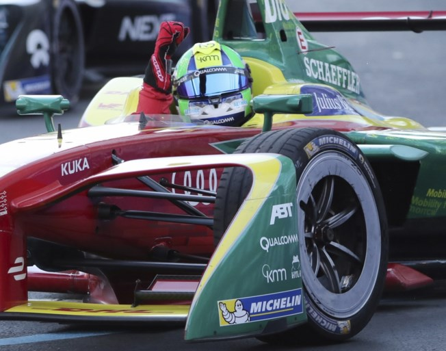 Braziliaan Di Grassi wint Formule E-kampioenschap, D'Ambrosio stelt teleur