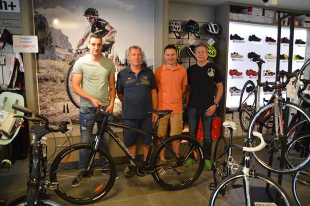 Winnaar fiets bij Tocht der Lage Landen