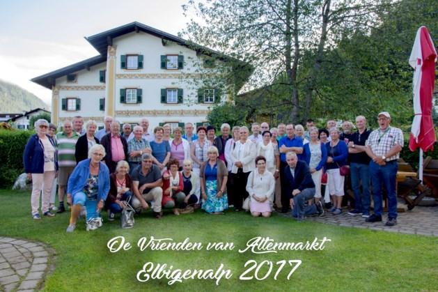 Vrienden van Altenmarkt trekken naar Tirol