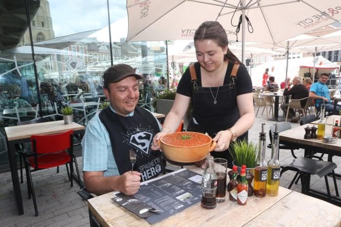 Truiens restaurant serveert portie van 2,3 kilo spaghetti