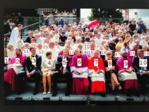 FOTO. Deze belangrijke mensen namen plaats op de eretribune tijdens de Virga Jesseommegang