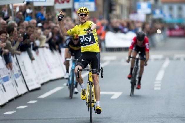 Tourwinnaar Chris Froome wint na-Tourcriterium van Roeselare