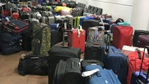 """Nog 1.000 koffers af te halen: """"Swissport heeft duidelijk geen draaiboek voor stakingen"""""""