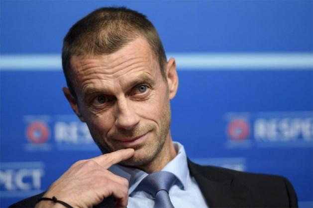 """UEFA-voorzitter zelf niet blij met nieuwe formule: """"EK in dertien landen is een vergissing"""""""