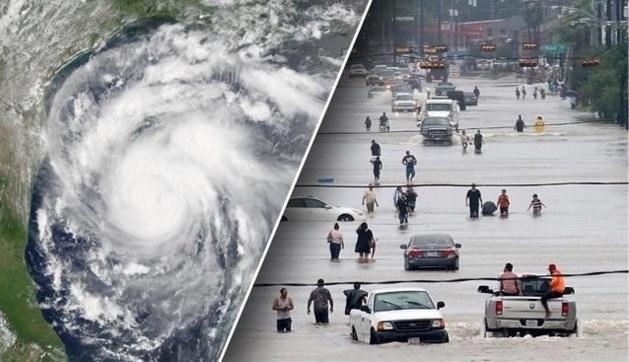 """Orkaan Irma, opvolgster van Harvey, wint aan kracht en is """"extreem gevaarlijk"""""""