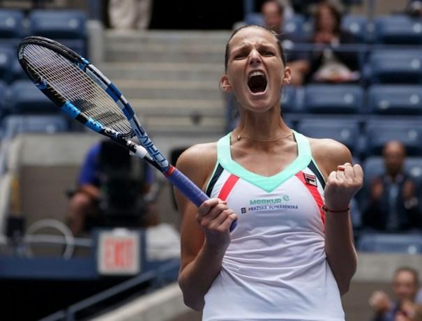 's Werelds nummer één Pliskova ontsnapt aan uitschakeling op US Open, winnares Roland Garros naar huis
