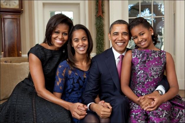 Michelle Obama kiest voor luchtige outfit op vakantie