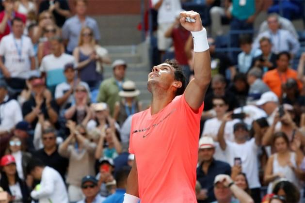 US OPEN. Nadal op een drafje door, nummer één bij de vrouwen moet nauwelijks één game prijsgeven
