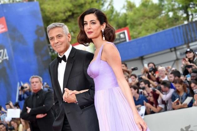 George en Amal Clooney voor het eerst op rode loper na geboorte tweeling