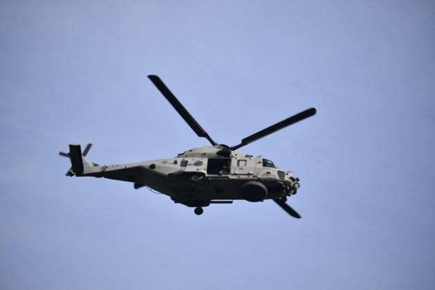 Zoektocht naar piloot die uit helikopter viel maandagochtend hervat