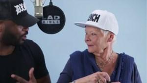 Bond-actrice (82) waagt zich aan de kunst van het rappen