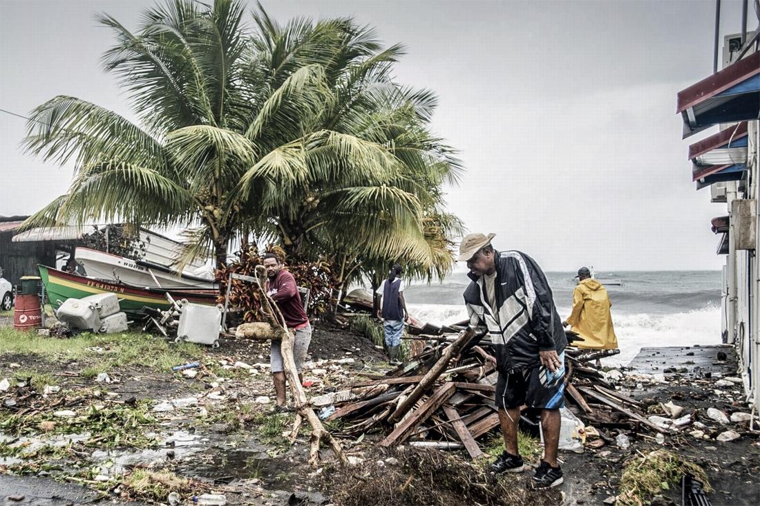 Orkaan Maria Houdt Lelijk Huis In Guadeloupe: 1 Dode En