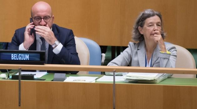 Michel plaatst multilateralisme centraal tijdens Algemene Vergadering Verenigde Naties