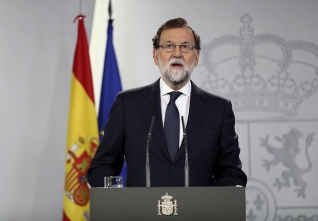 """Europarlementsleden klagen """"staat van beleg"""" door Madrid in Catalonië aan"""