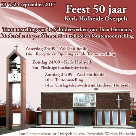 50 Jaar kerk Holheide-Overpelt