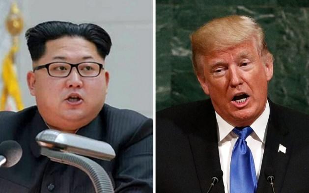 De scheldtirade gaat voort: nu is het weer aan Trump om uit te halen naar Kim Jong-un