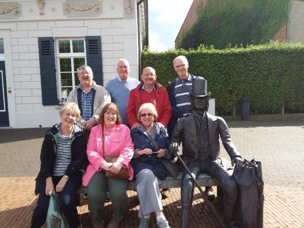 Bezoek van delegatie uit Bridgend-Wales