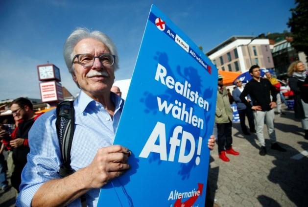 Rechts-populistische AfD volgens peilingen op de derde plaats bij Duitse verkiezingen